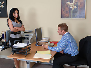 Audrey Bitoni gets fucked in the office
